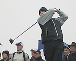 Oliver Wilson teeing off on the 4th hole during day two of the 3 Irish Open..Pic Fran Caffrey/golffile.ie