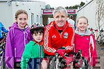 Sadbh, Odhran, Anthony and Ella Foley Caragh Lake who participated  in the Two Lakes Cycle in Killorglin on Saturday
