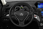 Car pictures of steering wheel view of a 2018 Acura ILX Technology Plus 4 Door Sedan