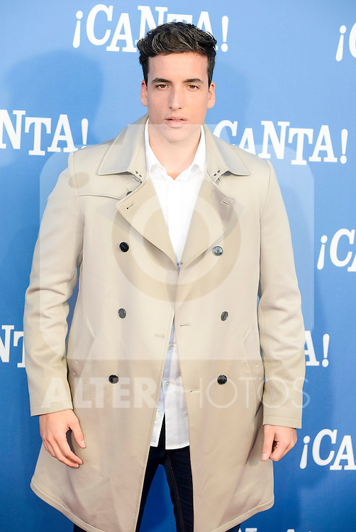 "Xuxo Jones attends to the premiere of the film ""¡Canta!"" at Cines Capitol in Madrid, Spain. December 18, 2016. (ALTERPHOTOS/BorjaB.Hojas)"
