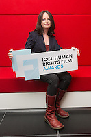 ***NO FEE PIC *** 05/06/2014 Niamh Heery Director of Harmanli: Trapped on the Fringe of Freedom during the launch of the ICCL (Irish Council for Civil Liberties) Human Rights Film Awards Shortlist at the IFCO in Smith field, Dublin. Photo: Gareth Chaney Collins