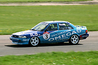 Round 2 of the 1992 British Touring Car Championship. #3 Andy Rouse (GBR). Team Securicor ICS Toyota. Toyota Carina.