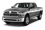 Front three quarter view of a <br /> 2013 Dodge RAM 1500 Big Horn Crew Cab