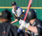 Photo of the University of South Carolina Upstate Spartans in a game against the Valparaiso Crusaders on Friday, March 6, 2015, at Cleveland S. Harley Park in Spartanburg, South Carolina. (Tom Priddy/Four Seam Images)
