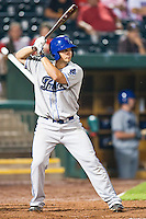 July 21, 2010 Matt Repec (24) in action during the MiLB game between the Tulsa Drillers and the Springfield Cardinals at Hammons Field in Springfield Missouri.  Tulsa won 5-3