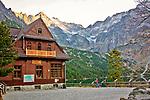 Schronisko PTTK przy Morskim Oku, Tatry, Polska<br /> Morskie Oko Mountain Hut, Tatra Mountains, Poland