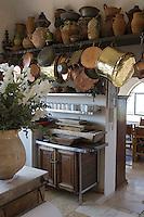 Asie/Israel/Tel-Aviv-Jaffa/Jaffa: Maison-Musée de l'artiste Ilana Goor (Gur) - Ilana Goor Muséum - La Cuisine