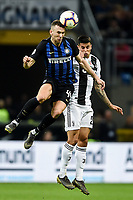 Ivan Perisic of Internazionale , Joao Cancelo of Juventus <br /> Milano 27-04-2019 Stadio Giuseppe Meazza <br /> Football Serie A 2018/2019 FC Internazionale - Juventus FC <br /> photo Image Sport / Insidefoto