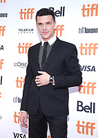 """TORONTO, ONTARIO - SEPTEMBER 10: Finn Wittrock attends the """"Judy"""" premiere during the 2019 Toronto International Film Festival at Princess of Wales Theatre on September 10, 2019 in Toronto, Canada. Photo: PICJER/imageSPACE/MediaPunch"""