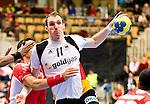 Nach 167 L&auml;nderspielen mit 576 Toren beendet Holger Glandorf seine Karriere in der deutschen Handball-Nationalmannschaft. Der 31-j&auml;hrige Linksh&auml;nder war 2007 Weltmeister und gewann im Juni mit der SG Flensburg-Handewitt die Champions League<br /> Archiv aus: <br />  16.01.2011, Kristianstad Arena, SWE, IHF Handball Weltmeisterschaft 2011, Herren, Bahrain (BH) vs Deutschland (GER) im Bild, // Holger Glandorf (RR / TBV Lemgo #11) // during the IHF 2011 World Men's Handball Championship match Bahrain (BH) vs Deutschland (GER) at Kristianstad Arena.  Foto &copy; nph / Bildbyr&aring;n   30458