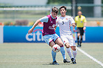 Aston Villa (in purple claret) vs HKFC U-23 (in white), during their Main Tournament match, part of the HKFC Citi Soccer Sevens 2017 on 27 May 2017 at the Hong Kong Football Club, Hong Kong, China. Photo by Marcio Rodrigo Machado / Power Sport Images