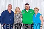Gary O'Sullivan CAstleisland who was  honoured at the Kerry Council awards in the Gleneagle Hotel on Friday night l-r: Mags, Gary and Mary O'Sullivan