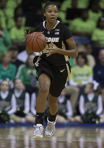 December 29, 2012:  Purdue guard Dee Dee Williams (20) during NCAA Women's Basketball game action between the Notre Dame Fighting Irish and the Purdue Boilermakers at Purcell Pavilion at the Joyce Center in South Bend, Indiana.  Notre Dame defeated Purdue 74-47.