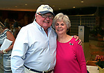 The Monmouth Park Charity Fund held their Distribution Tea in honor of former Board Member Roberta Fox on Wednesday October 25, 2017 at Monmouth Park Racetrack in Oceanport, N.J.