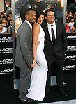 "HOLLYWOOD, CA. - August 06: Marlon Wayans, Rachel Nichols and Channing Tatum arrive at a special screening of ""G.I. Joe: The Rise Of The Cobra"" on August 6, 2009 in Hollywood, California."
