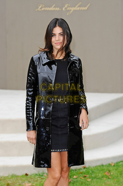 LONDON, ENGLAND - SEPTEMBER 21:  Julia Restoin Roitfeld attending the Burberry Prorsum Spring/Summer 2016 show during London Fashion Week at Kensington Gardens, on September 21, 2015 in London, England.<br /> CAP/MAR<br /> &copy; Martin Harris/Capital Pictures