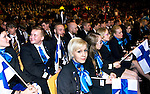 Lille - France- 05 October 2014 --  Euroskills 2014 competition, closing ceremony and medals. -- Team Finland - celebrating and waiting for the results. -- PHOTO: SkillsFinland / Juha ROININEN - EUP-IMAGES
