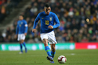 Allan of Brazil and Napoli during Brazil vs Cameroon, International Friendly Match Football at stadium:mk on 20th November 2018