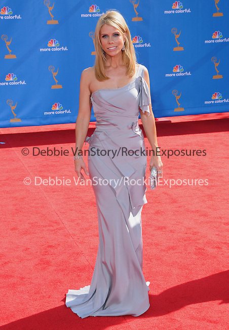 Cheryl Hines ..  at The 62nd Anual Primetime Emmy Awards held at Nokia Theatre L.A. Live in Los Angeles, California on August 29,2010                                                                   Copyright 2010  DVS / RockinExposures