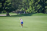Karine Icher (FRA) hits her approach shot on 7 during round 2 of the 2018 KPMG Women's PGA Championship, Kemper Lakes Golf Club, at Kildeer, Illinois, USA. 6/29/2018.<br /> Picture: Golffile | Ken Murray<br /> <br /> All photo usage must carry mandatory copyright credit (© Golffile | Ken Murray)