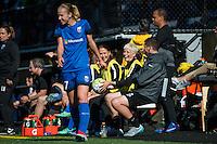 Seattle, Washington - Sunday, June 12, 2016: Seattle Reign FC forward Megan Rapinoe (15) during a regular season National Women's Soccer League (NWSL) match at Memorial Stadium. Seattle won 1-0.