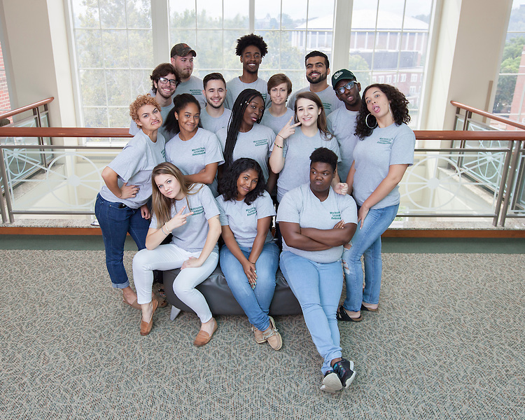 Multicultural Leadership Ambassadors 2016 © Ohio University / Photo by Kaitlin Owens