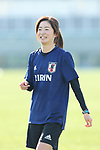 Risa Shimizu (JPN), JANUARY 16, 2018 -  Football / Soccer : <br /> Japan women's national team training camp <br /> in Tokyo, Japan. <br /> (Photo by Yohei Osada/AFLO)