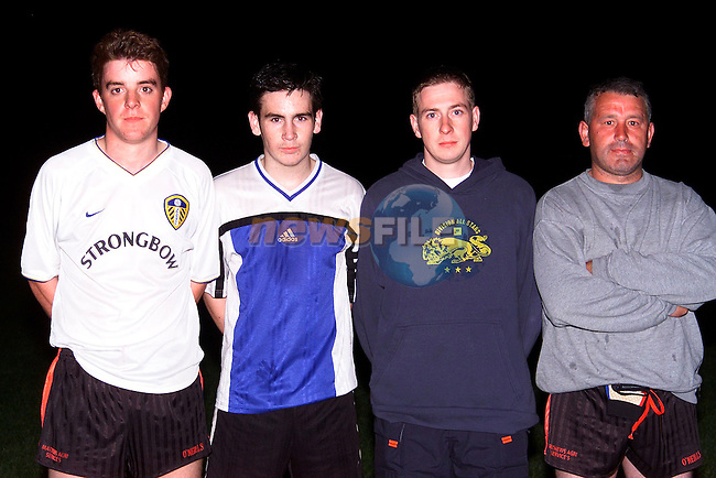 L/R, Ivor Sherlock, Shane Grimes, Ernie Roche and Mchael Englishby..Picture: Paul Mohan/Newsfile