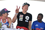 KONA, HAWAII - OCTOBER 12:  during the Ambassador Athlete Press Conference at the 2017 IRONMAN World Championships on October 12, 2017 in Kona, Hawaii. (Photo by Donald Miralle for IRONMAN)