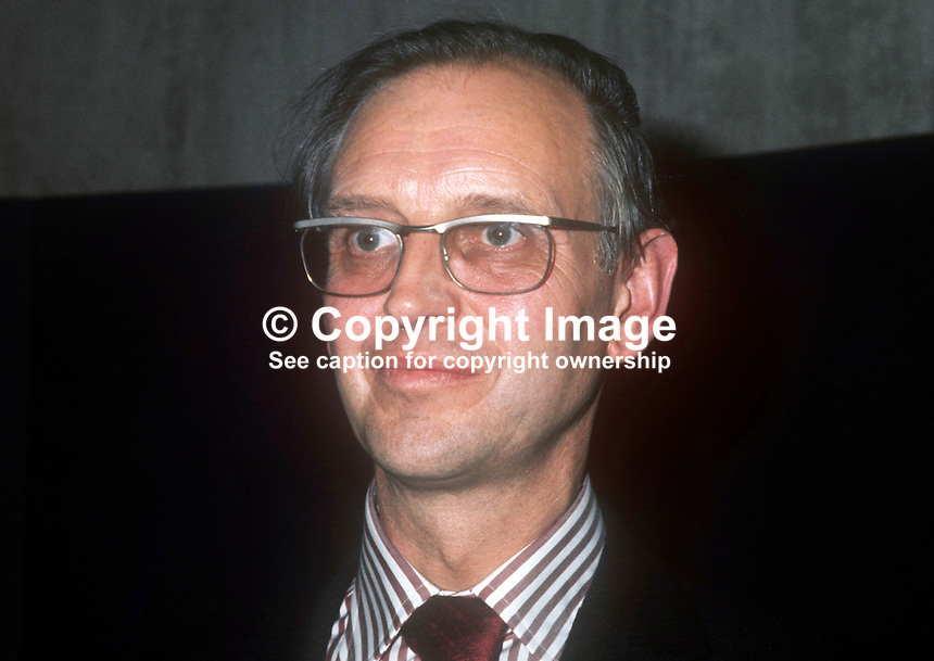 Alan Warhurst, director, Ulster Museum, Belfast, N Ireland, October 1972, 197210000688<br /> <br /> Copyright Image from Victor Patterson, 54 Dorchester Park, Belfast, UK, BT9 6RJ<br /> <br /> t1: +44 28 9066 1296 (from Rep of Ireland 048 9066 1296)<br /> t2: +44 28 9002 2446 (from Rep of Ireland 048 9002 2446)<br /> m: +44 7802 353836<br /> <br /> e1: victorpatterson@me.com<br /> e2: victorpatterson@gmail.com<br /> <br /> The use of my copyright images is subject to my Terms &amp; Conditions.<br /> <br /> It is IMPORTANT that you familiarise yourself with them. They are available on my website at www.victorpatterson.com.<br /> <br /> None of my copyright images may be used on a website unless they are visibly watermarked, i.e. &copy; Victor Patterson within the body of the visible image. Metadata denoting my copyright must NOT be deleted. <br /> <br /> Web use is extra at currently recommended NUJ rates.