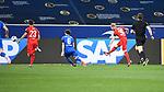 Florian Kainz (1. FC Koeln) schiesst das Tor zum 3-1.<br /> <br /> Sport: Fussball: 1. Bundesliga: Saison 19/20: 28. Spieltag: TSG 1899 Hoffenheim - 1. FC Koeln, 27.05.2020<br /> <br /> Foto: Markus Gilliar/GES/POOL/PIX-Sportfotos.<br /> <br /> Nur für journalistische Zwecke! Only for editorial use!<br /> <br /> Gemäß den Vorgaben der DFL Deutsche Fußball Liga ist es untersagt, in dem Stadion und/oder vom Spiel angefertigte Fotoaufnahmen in Form von Sequenzbildern und/oder videoähnlichen Fotostrecken zu verwerten bzw. verwerten zu lassen. DFL regulations prohibit any use of photographs as image sequences and/or quasi-video.