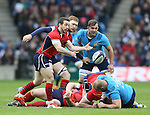 Greg Laidlaw of Scotland - RBS 6Nations 2015 - Scotland  vs Italy - BT Murrayfield Stadium - Edinburgh - Scotland - 28th February 2015 - Picture Simon Bellis/Sportimage