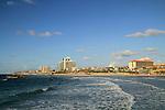 Israel, Sharon region, coast of Herzliya