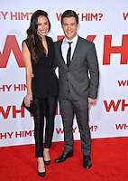 Actors Adam Devine &amp; Chloe Bridges at the world premiere of &quot;Why Him?&quot; at the Regency Bruin Theatre, Westwood. December 17, 2016<br /> Picture: Paul Smith/Featureflash/SilverHub 0208 004 5359/ 07711 972644 Editors@silverhubmedia.com