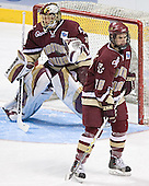 Cory Schneider, Dan Bertram - The University of Wisconsin Badgers defeated the Boston College Eagles 2-1 on Saturday, April 8, 2006, at the Bradley Center in Milwaukee, Wisconsin in the 2006 Frozen Four Final to take the national Title.