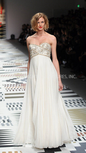 WWW.ACEPIXS.COM<br /> <br /> February 19 2015, London<br /> <br /> Jaquetta Wheeler walks the runway at the Fashion For Relief charity fashion show to kick off London Fashion Week 2015 at Somerset House on February 19 29015 in London<br /> <br /> By Line: Famous/ACE Pictures<br /> <br /> <br /> ACE Pictures, Inc.<br /> tel: 646 769 0430<br /> Email: info@acepixs.com<br /> www.acepixs.com