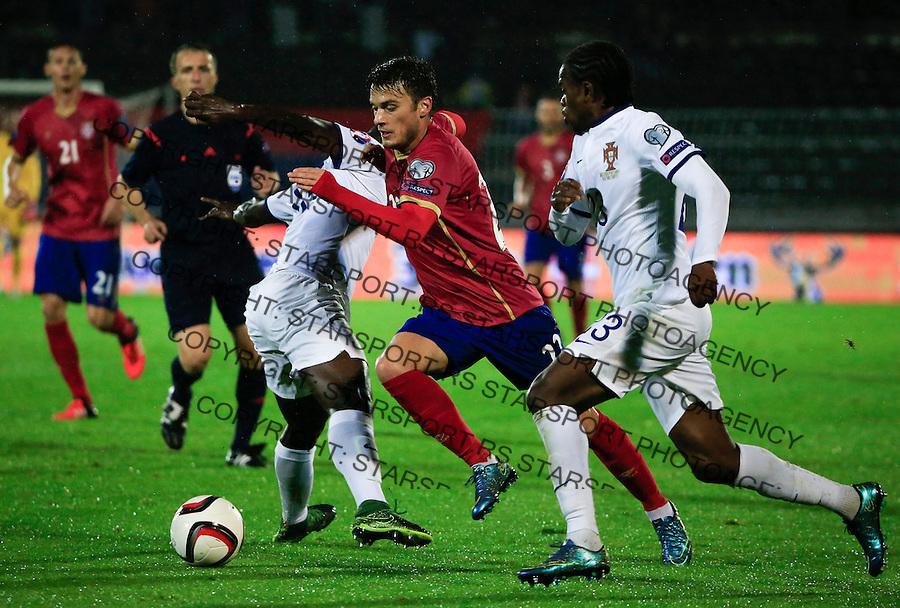 Fudbal, kvalifikacije za UEFA EURO 2016 qualifiers-Qualifying round - Group I<br /> Srbija v Portugal<br /> Adem Ljajic (C)<br /> Beograd, 11.10.2015.<br /> foto: Srdjan Stevanovic/Starsportphoto &copy;