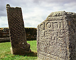 King Donierts Stone. St Cleer, Bodmin Moor, Cornwall. Uk. Celtic Britain published by Orion. Doniert is thought to be King Durngarth, one of the last Kings of Cornwall.
