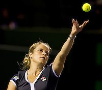 Kim CLIJSTERS (BEL) against Samantha STOSUR (AUS) in the Quarter Finals of the women's singles. Kim Clijsters beat Samantha Stosur 6-3 7-5..International Tennis - 2010 ATP World Tour - Sony Ericsson Open - Crandon Park Tennis Center - Key Biscayne - Miami - Florida - USA - Wed 31st Mar 2010..© Frey - Amn Images, Level 1, Barry House, 20-22 Worple Road, London, SW19 4DH, UK .Tel - +44 20 8947 0100.Fax -+44 20 8947 0117