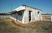 Meadow Farm, aka Meadow Stud, birthplace of Secretariat, in 1999. MD