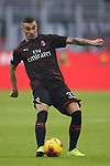 Rade Krunic of AC Milan during the Serie A match at Giuseppe Meazza, Milan. Picture date: 6th January 2020. Picture credit should read: Jonathan Moscrop/Sportimage