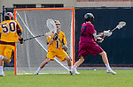 Los Angeles, CA 02/15/14 - Christian DeLuca (Arizona State #1) and Jay Fuster (Stanford #12)
