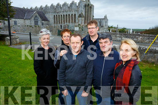 Ardfert Community Committee group will receive funding of €100k for works which include public toilets and coach parking for the village Pictured l-r Hilary Tobin, Grainne Kavanagh, Donal Stack, Maurice O'Driscoll, Justin Horgan and Barbara O'Grady