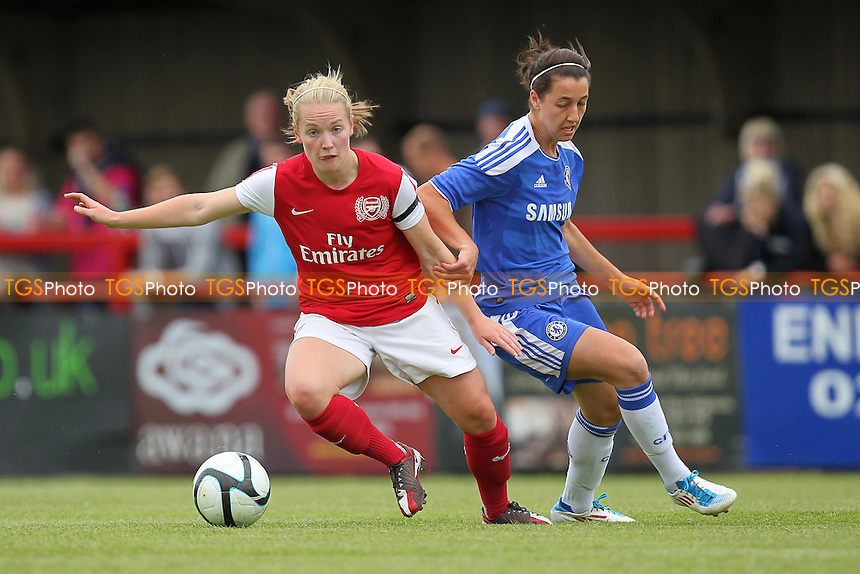3c08afe07 Kim Little of Arsenal turns away from Dania Susi of Chelsea - Arsenal Ladies  vs Chelsea