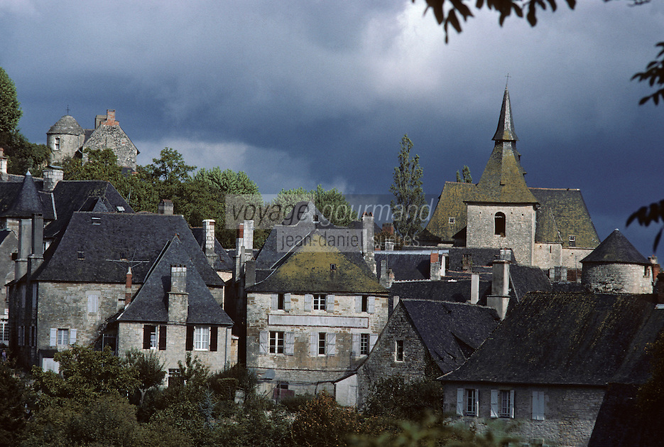 Europe/France/Limousin/19/Corrèze/Turenne : L'église