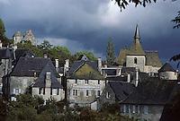 Europe/France/Limousin/19/Corrèze/Turenne: L'église