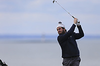 John Greene (Portmarnock) during the first round of matchplay at the 2018 West of Ireland, in Co Sligo Golf Club, Rosses Point, Sligo, Co Sligo, Ireland. 01/04/2018.<br /> Picture: Golffile | Fran Caffrey<br /> <br /> <br /> All photo usage must carry mandatory copyright credit (&copy; Golffile | Fran Caffrey)