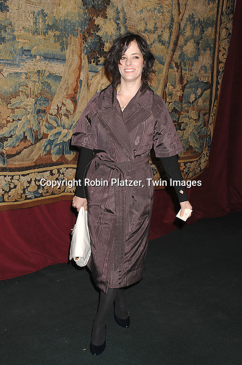 Parker Posey..arriving at The 7th on Sale Black Tie Gala Dinner on ..November 15, 2007 at The 69th Regiment Armory in New York. The Fashion Industry's Battle Against HIV and AIDS..will benefit. CFDA and Vogue were 2 of the sponsors...Robin Platzer, Twin Images