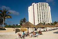 02.2012  Cancun (Mexico)<br /> <br /> Plage de Cancun.<br /> <br /> Cancun beach.