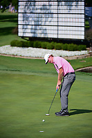 Brandt Snedeker (USA) watches his putt on 18 during round 2 of the Dean &amp; Deluca Invitational, at The Colonial, Ft. Worth, Texas, USA. 5/26/2017.<br /> Picture: Golffile | Ken Murray<br /> <br /> <br /> All photo usage must carry mandatory copyright credit (&copy; Golffile | Ken Murray)